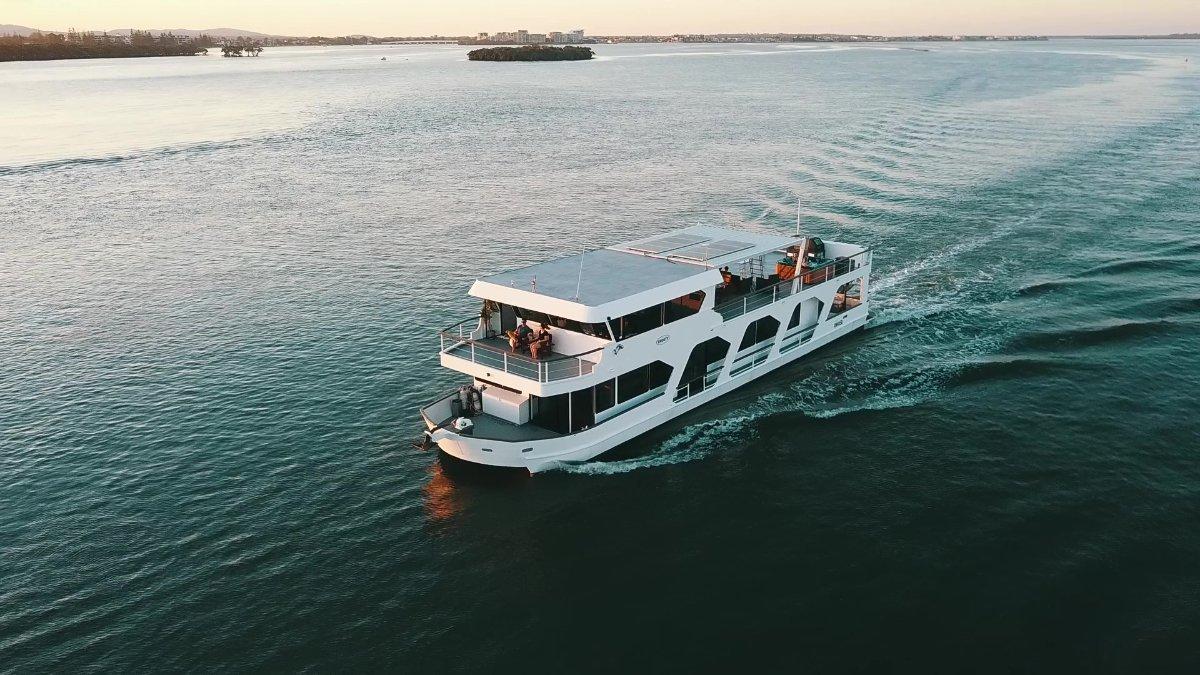 Lou Farrell Houseboat