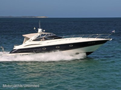 Sunseeker Camargue 44 *** Shaft drive and diesel. Two cabins ***