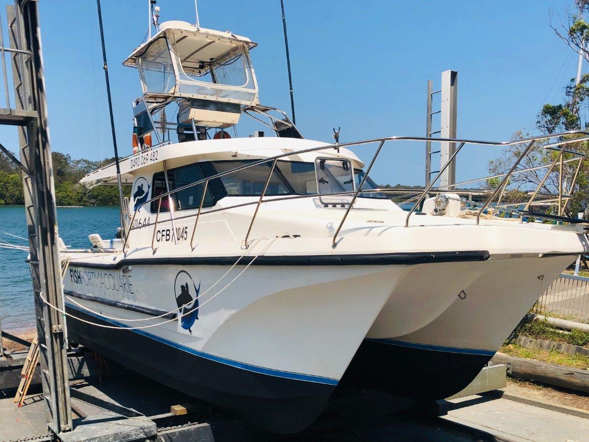 Cougar Cat Charter Fishing Vessel AMSA 1C Survey 18 + 2