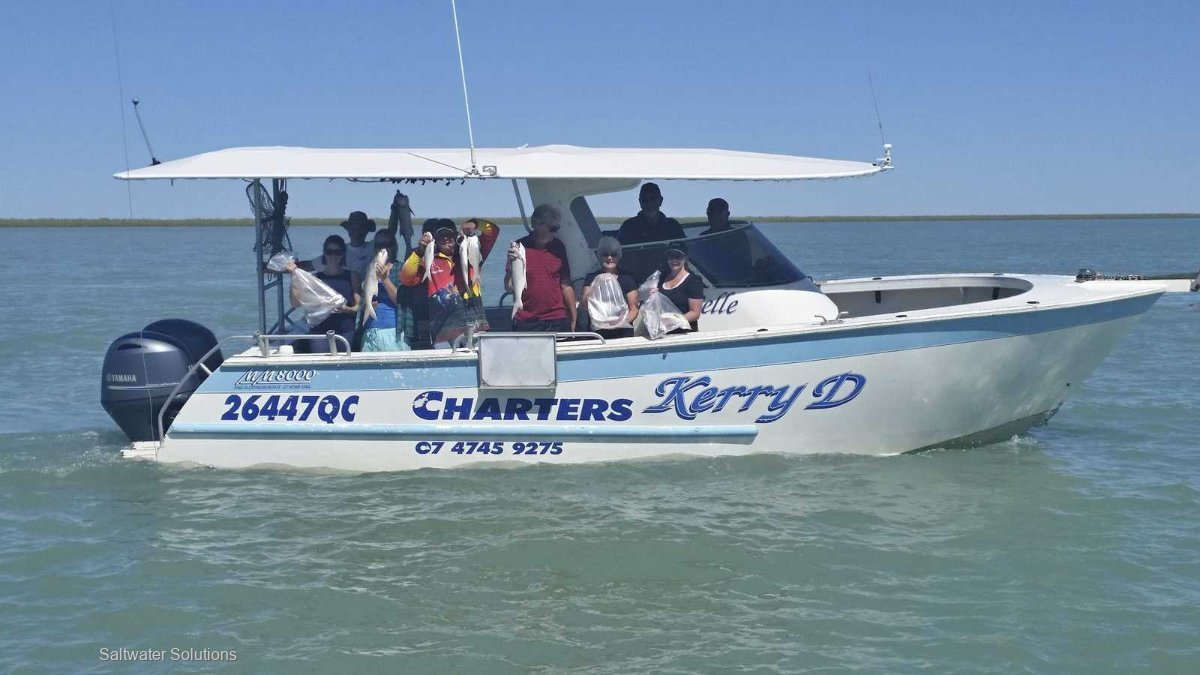 Kerry D Fishing Charter Business Karumba