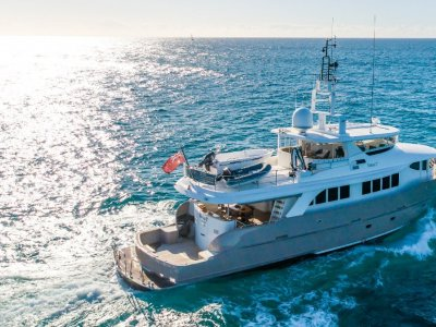 Expedition Long Range Motor Yacht Custom
