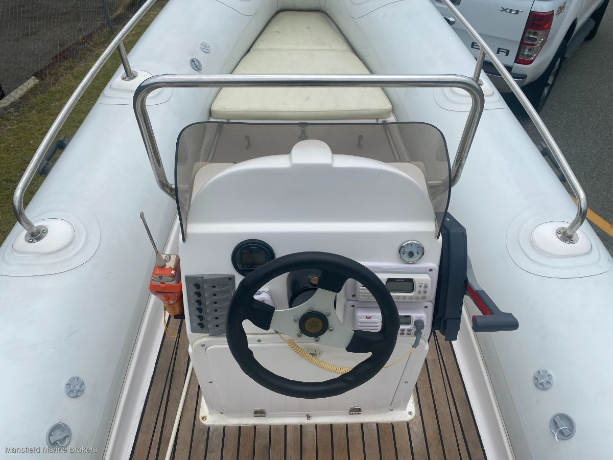 Zodiac Zodiac style RIB boat
