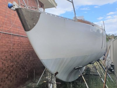 Wilf O'Kell Kitty near completed Ferro - never launched