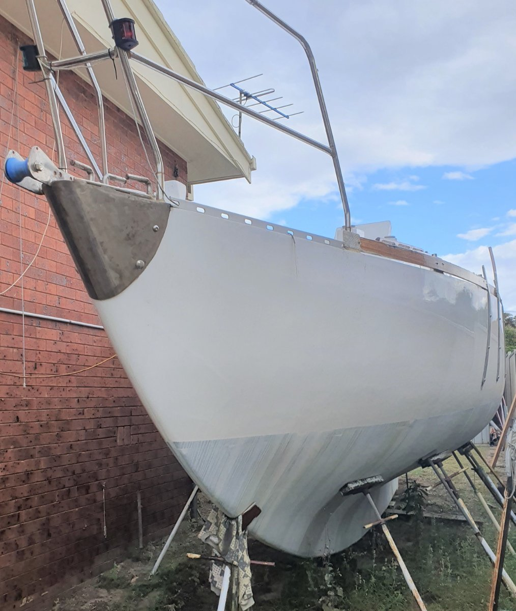 Wilf OKell Kitty near completed Ferro - never launched