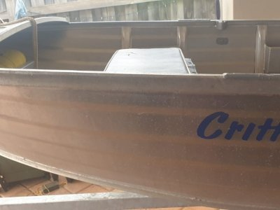 Bluefin Critter Boat/Collapsable trailer/Car boat loarde sold as 1