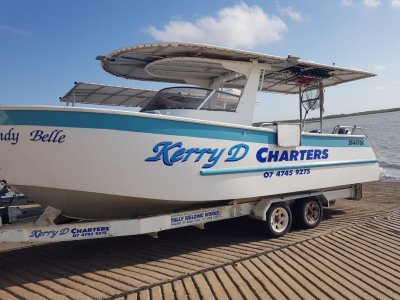 2 charter boats and established sports fishing
