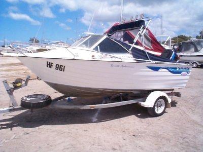 Savage 480 Ranger Sports Fisherman