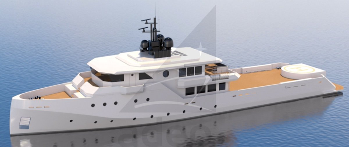 50m Yacht Support Vessel