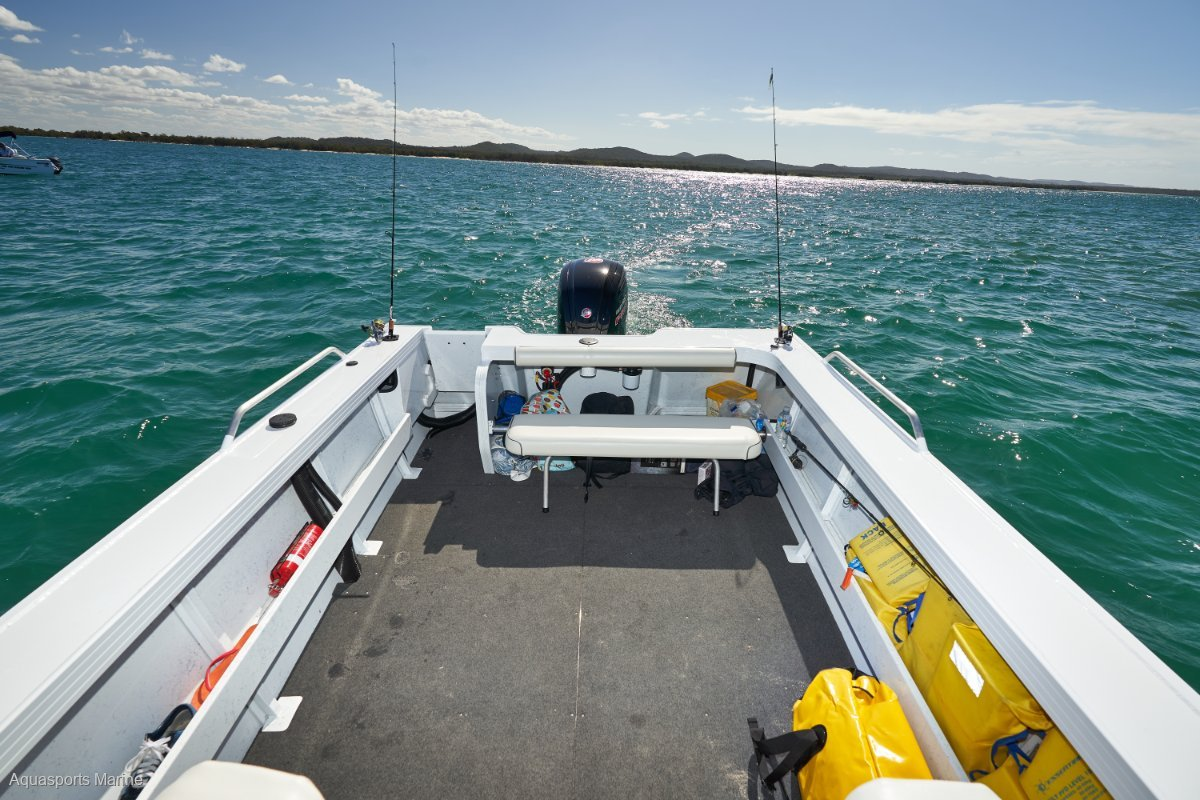New Quintrex 540 Fishabout Pro