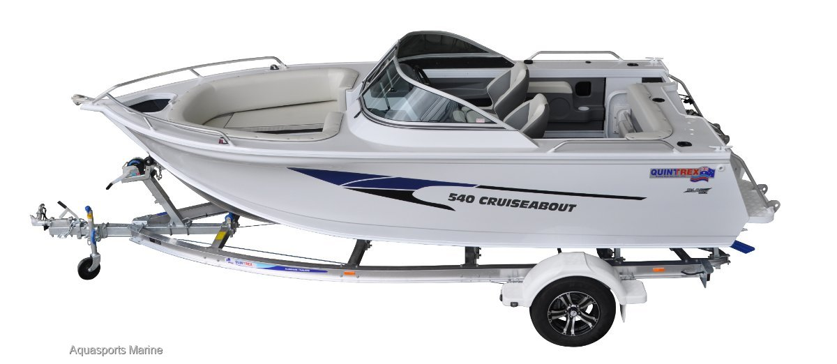 New Quintrex 540 Cruiseabout