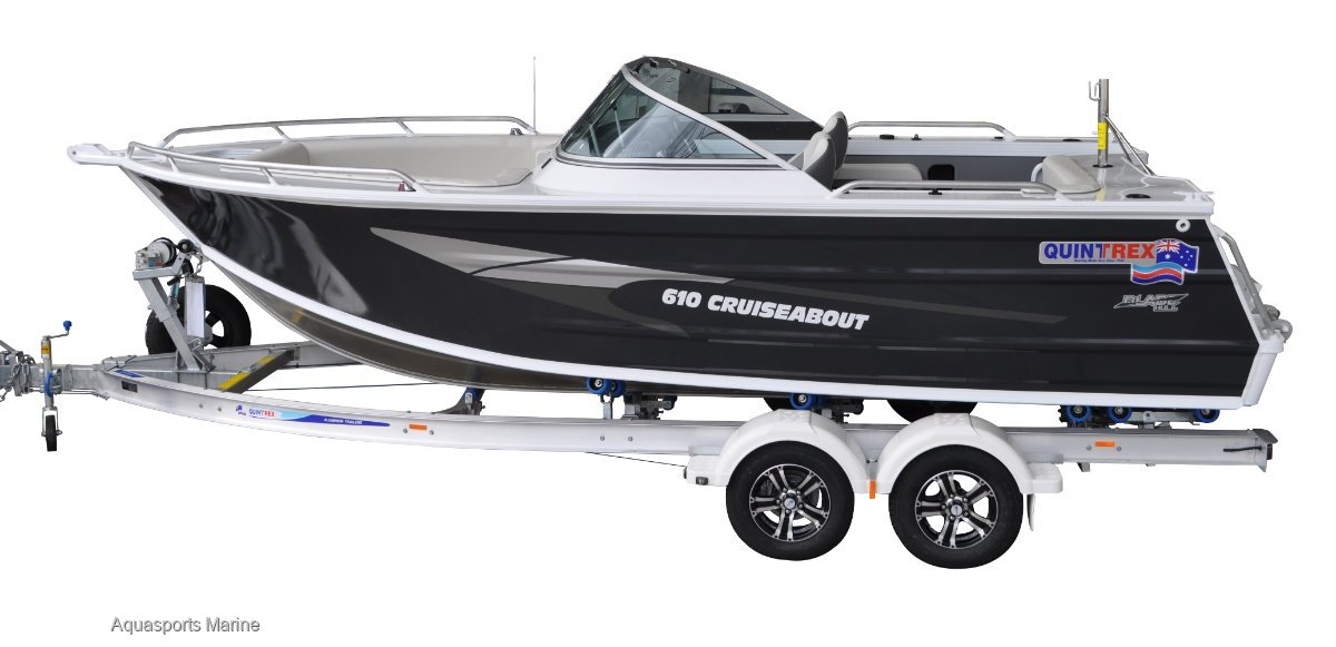 New Quintrex 610 Cruiseabout