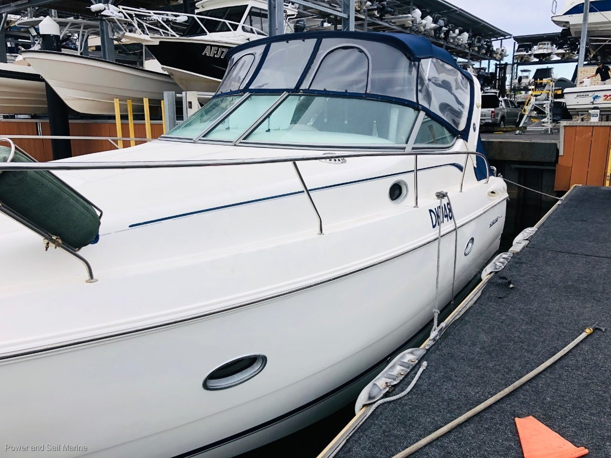 Sunrunner 2800 Bow thruster, low hours, manifolds FEB/20