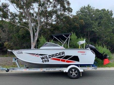 Stacer 499 Wild Rider Stacer WILDRIDER 499 - Bowrider - Near New