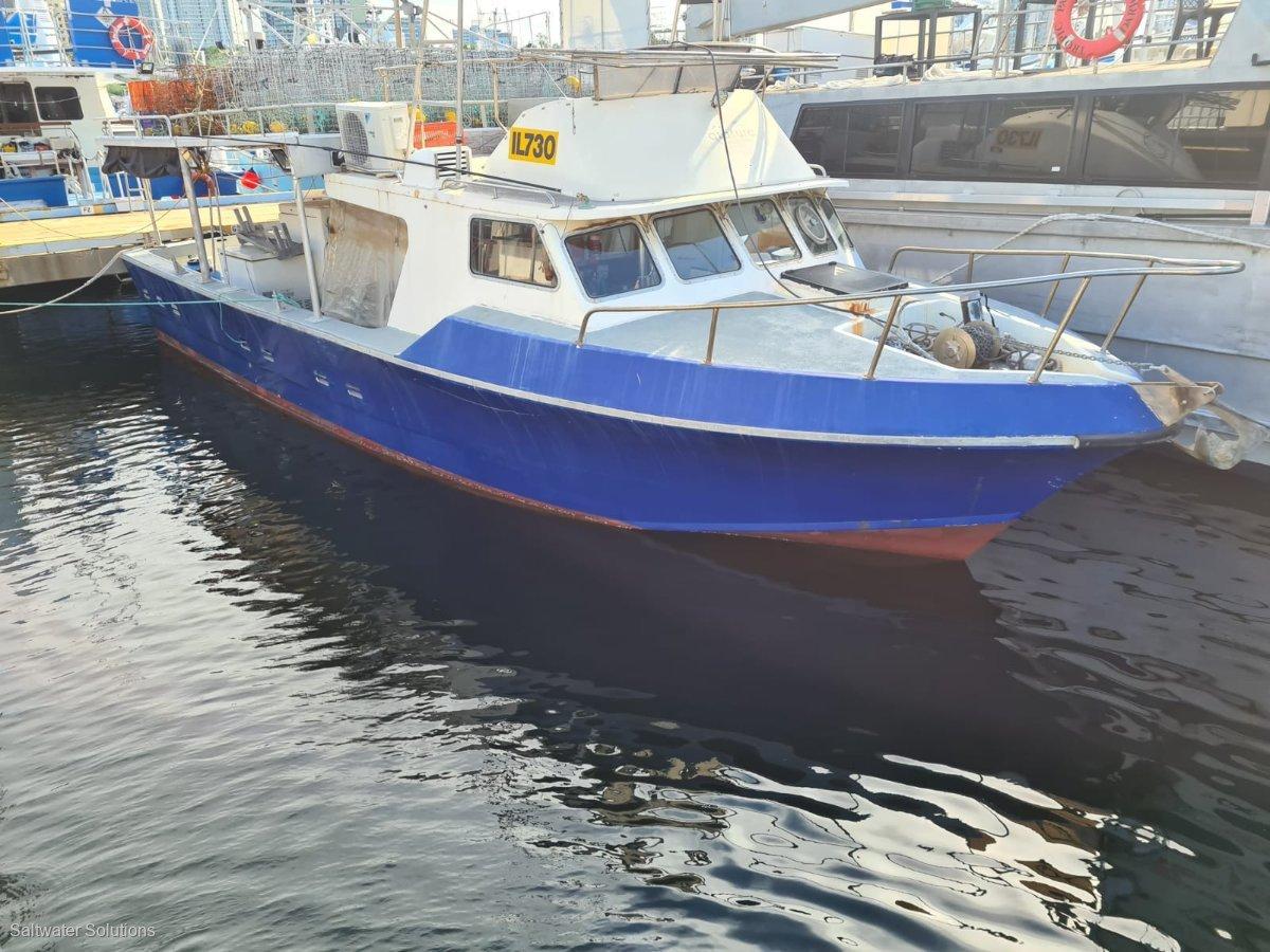 Harriscraft Fishing, Charter GRP