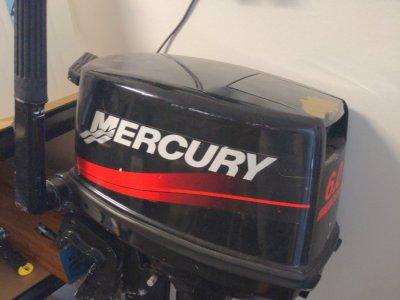 Aurora 250 and Mercury Tender and motor