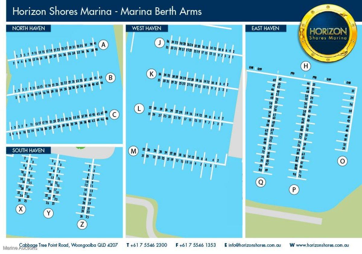 P62 12M MARINA BERTH AT HORIZON SHORES MARINA