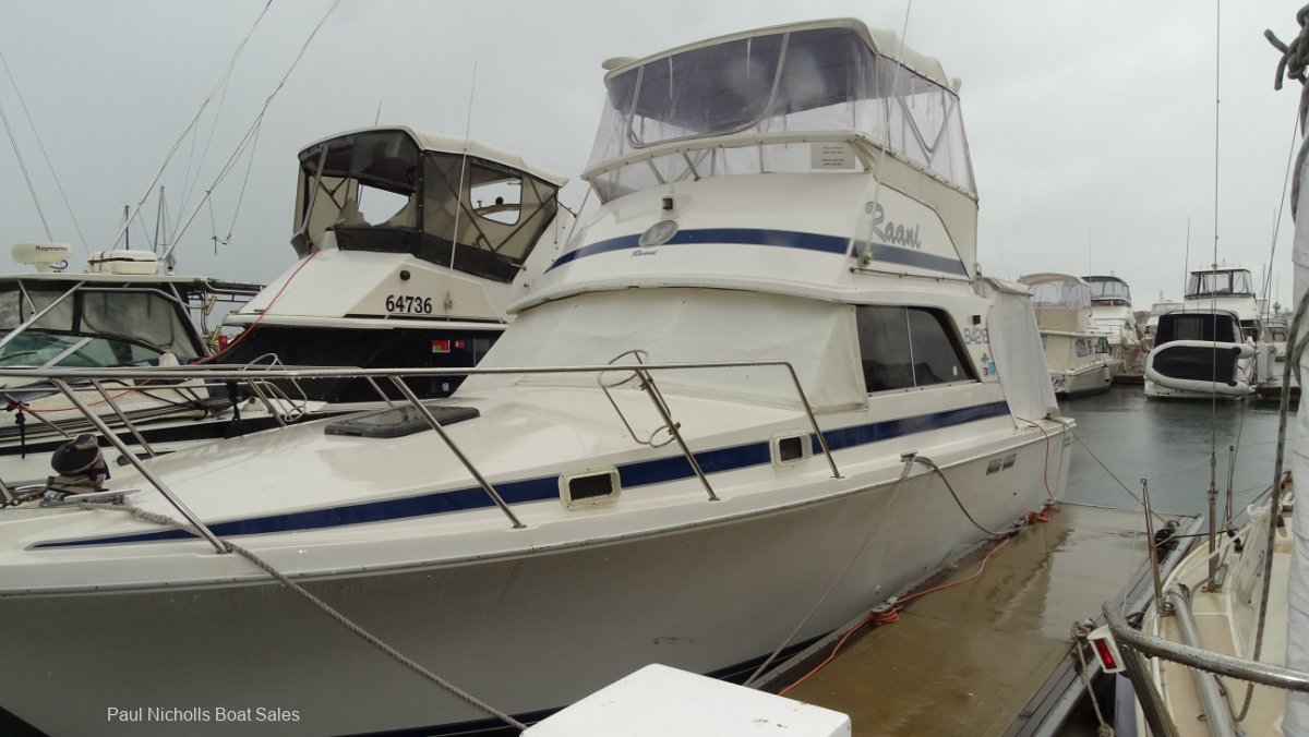 Bertram 31 Flybridge Cruiser GREAT VALUE AND PRICED TO SELL!