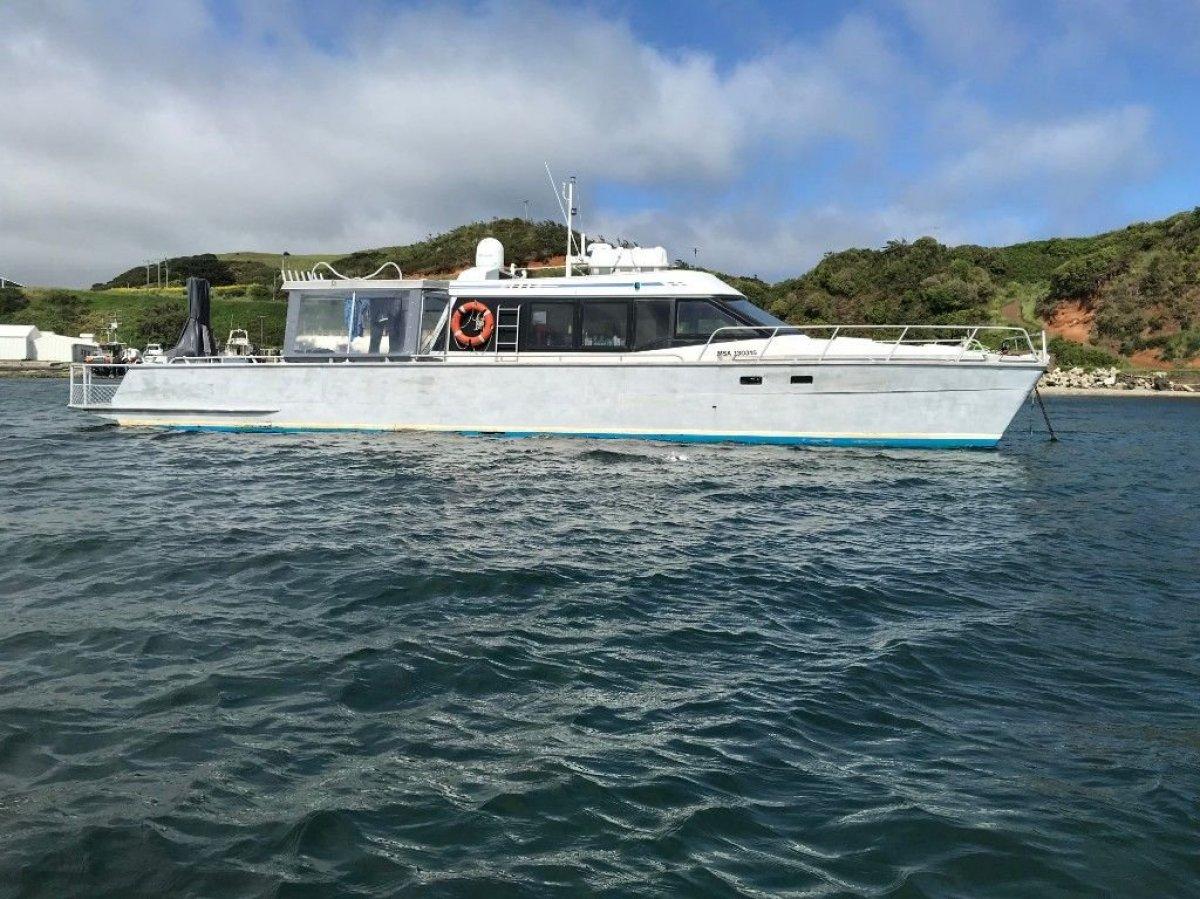 Wal Edwards 14.9m Power Catamaran