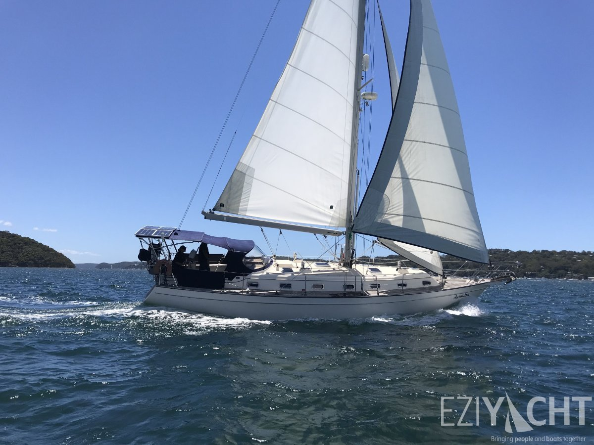 Island Packet 420 - The Choice Global Cruising Yacht for Cruisers