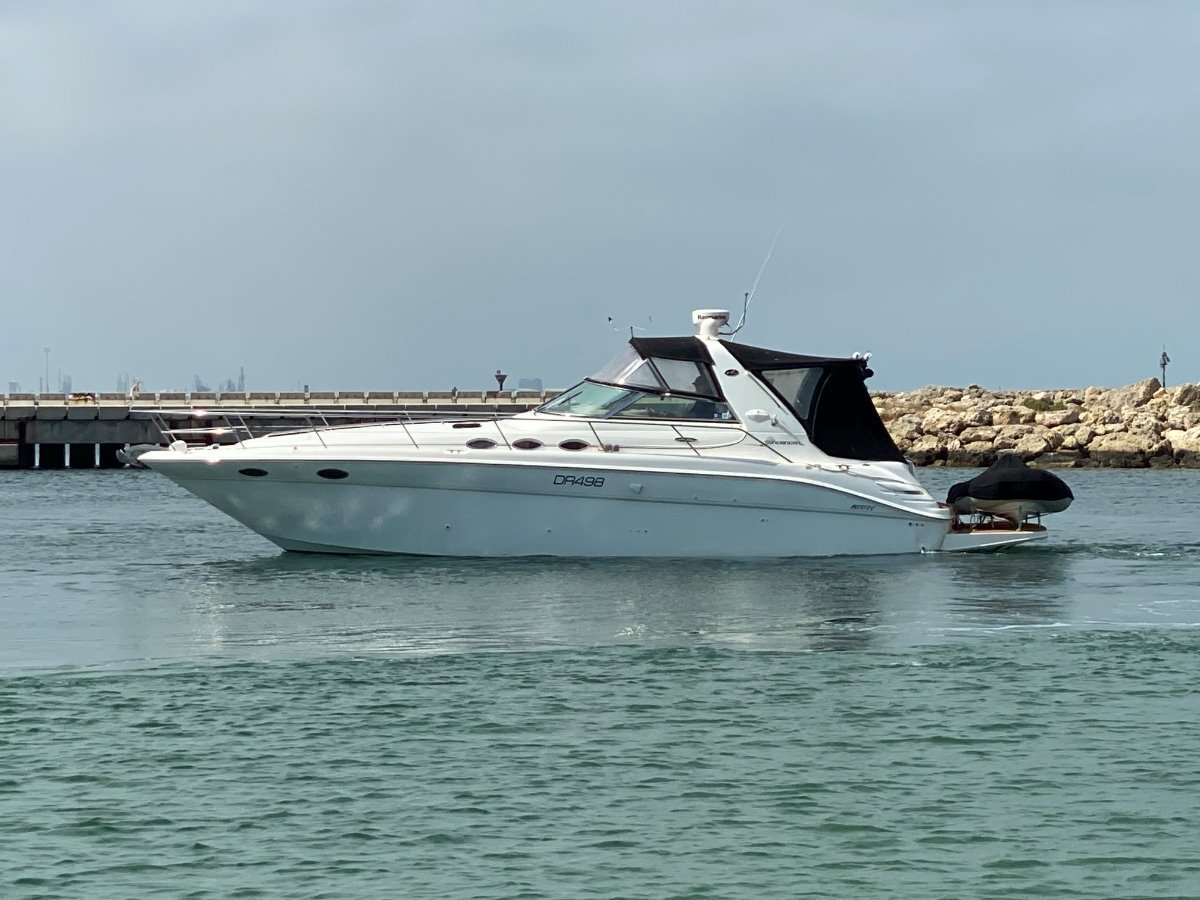 "Sea Ray 370 Sundancer "" SHAFT DRIVE "":SEARAY 370 SUNDANCER by YACHTS WEST MARINE ph 9335 7788"