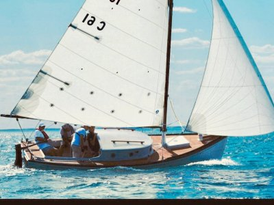 Couta Boat Classic with cabin, fully restored for sailing