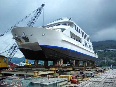 Cheoy Lee Global 100 Catamaran 108 footer boat, Huge