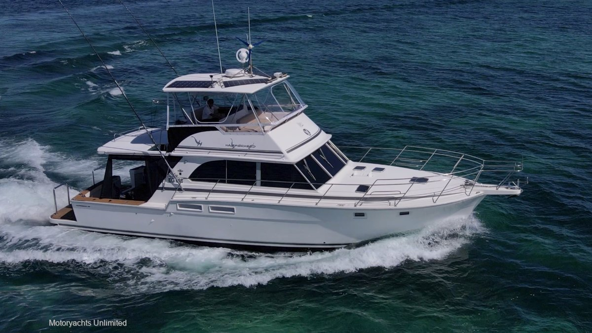 Caribbean 45 Flybridge Cruiser ** Extended to 47ft 6 | Twin Cats **