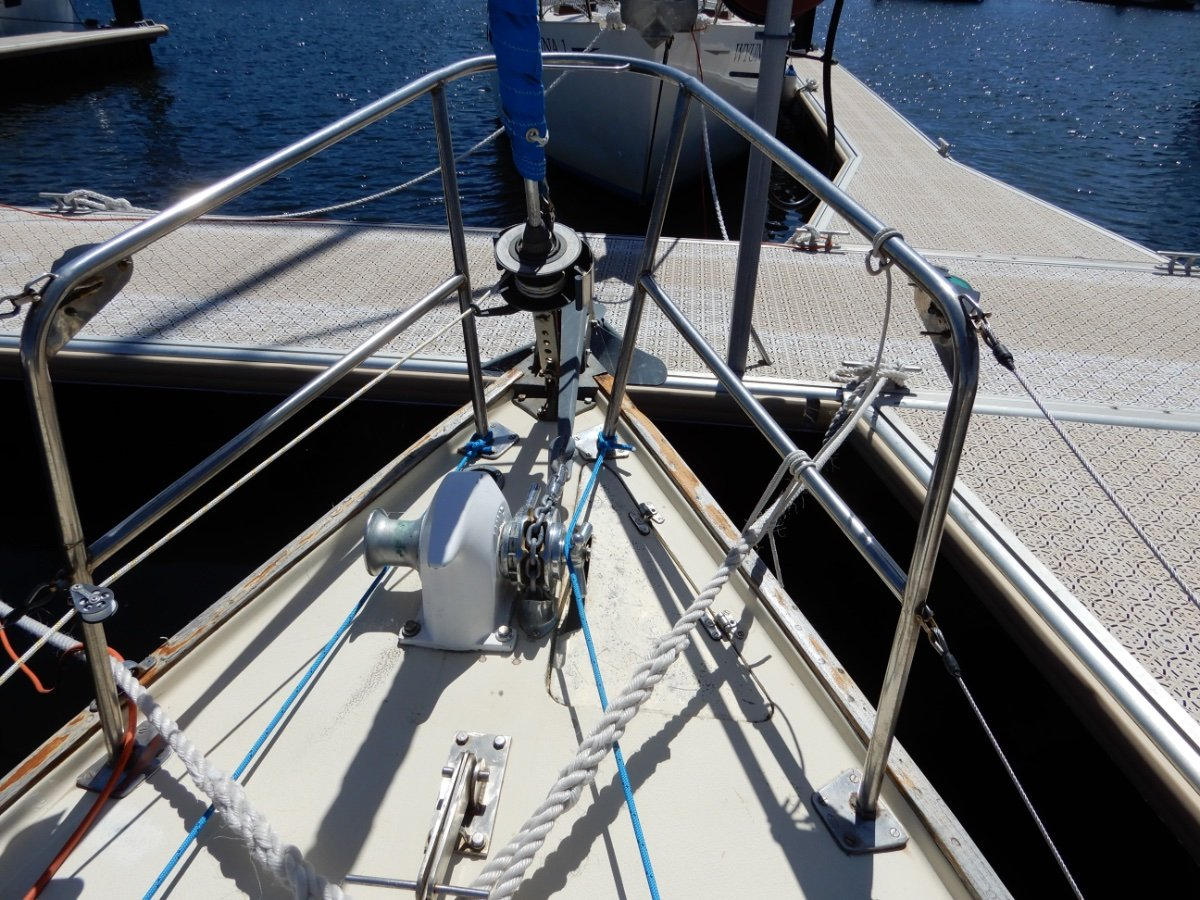 Herreshoff 28 NZ COMPASS BUILT NEW ENGINE AND STANDING RIGGING!