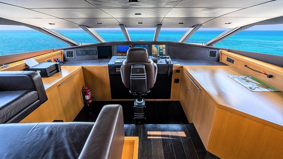 Sunseeker 34 Metre Yacht LUNA ROSSA