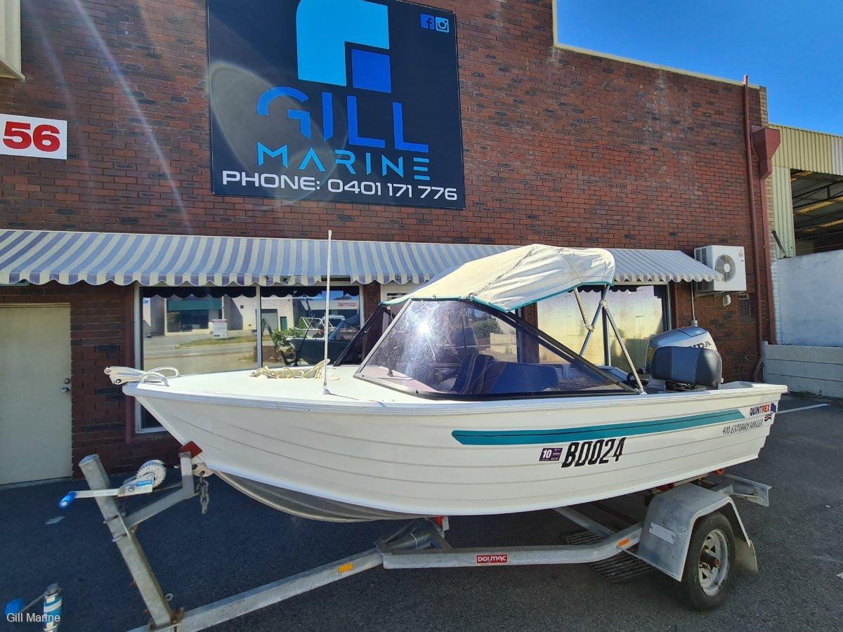 Quintrex 410 Fishabout HONDA 40HP 4 STROKE TURN KEY READY TO GO.. !!