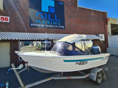 Quintrex 410 Fishabout HONDA 40HP 4 STROKE TURN KEY READY TO GO.. !!