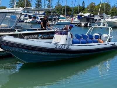 Gemini Waverider 730 Rigid Inflatable- Click for more info...