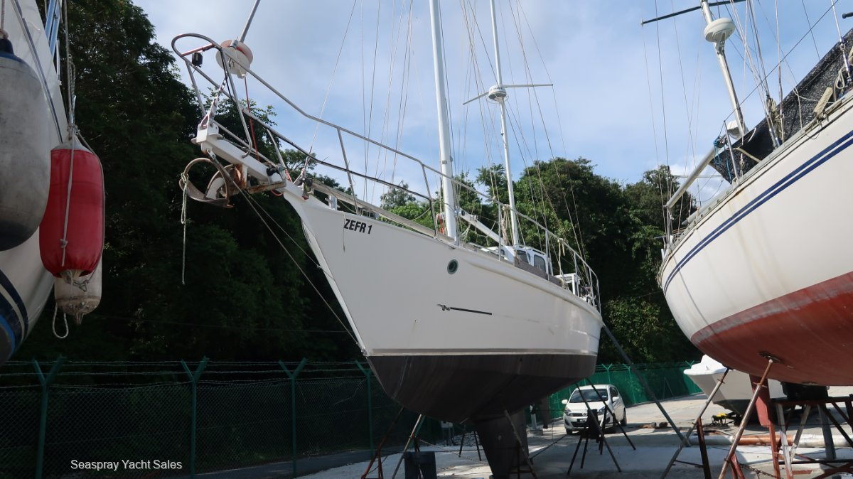Boro Bonito 42ft Steel Ketch for Sale in Langkawi, Malaysia.