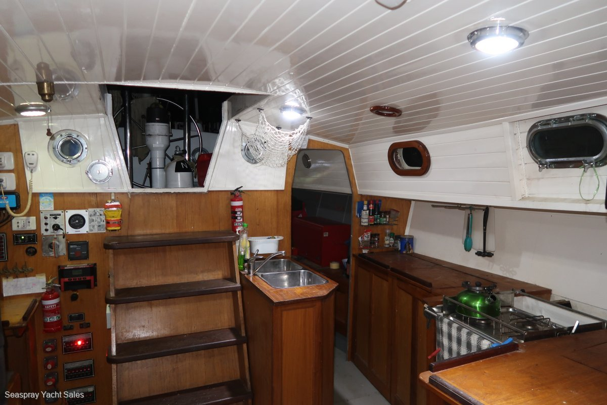 Boro Bonito 42ft Steel Ketch for Sale in Langkawi, Malaysia.:Langkawi yacht sales