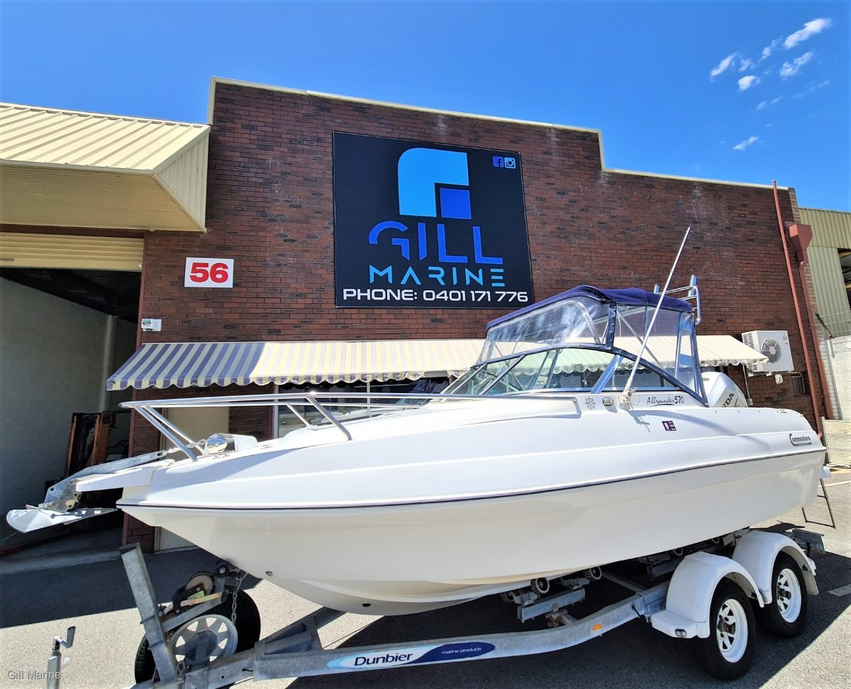 """Commodore All Rounder 570 """"IMMACULATE"""" 150hours old honda 150hp 4 stroke.. !!"""