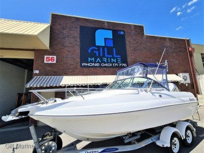 "Commodore All Rounder 570 ""IMMACULATE"" 150hours old honda 150hp 4 stroke.. !!"