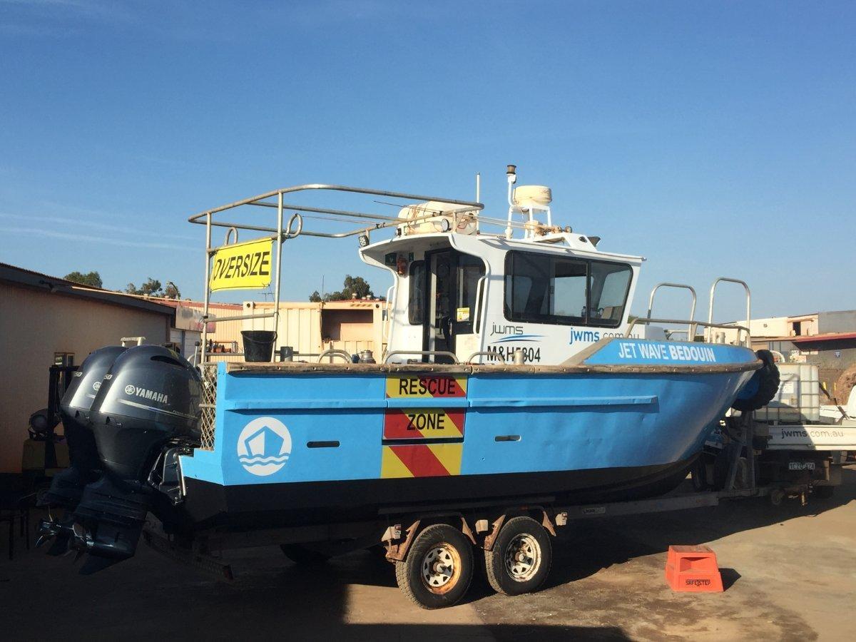 Global Marine 8.0 Centre Cab