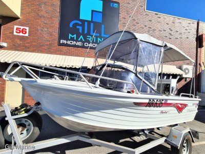 Quintrex 475 Bay Hunter Caprice 2015 60HP MERCURY 4 STROKE WITH 40HOURS... !!