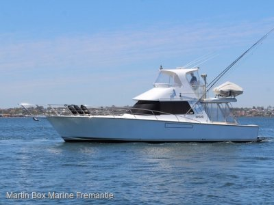 Precision 45 Flybridge Cruiser with C9 Caterpillar Diesels