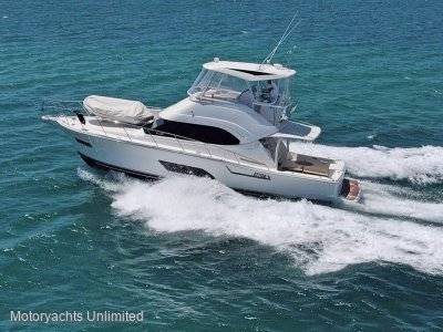 Riviera 43 Open Flybridge Series II with aft galley layout