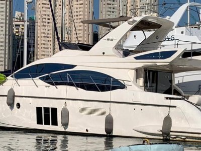 Azimut 53 Flybridge 2011 built, in excellent condition located in HK