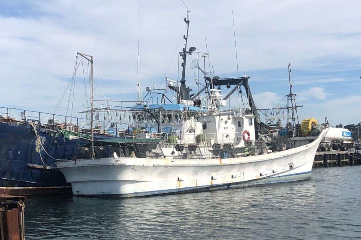 Squid Boat 24.9m