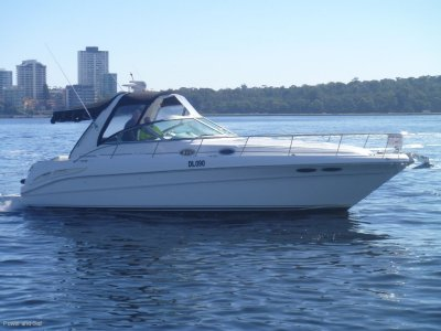 Sea Ray 360 Sundancer **only 50 hrs on rebuilt on motors and genset**