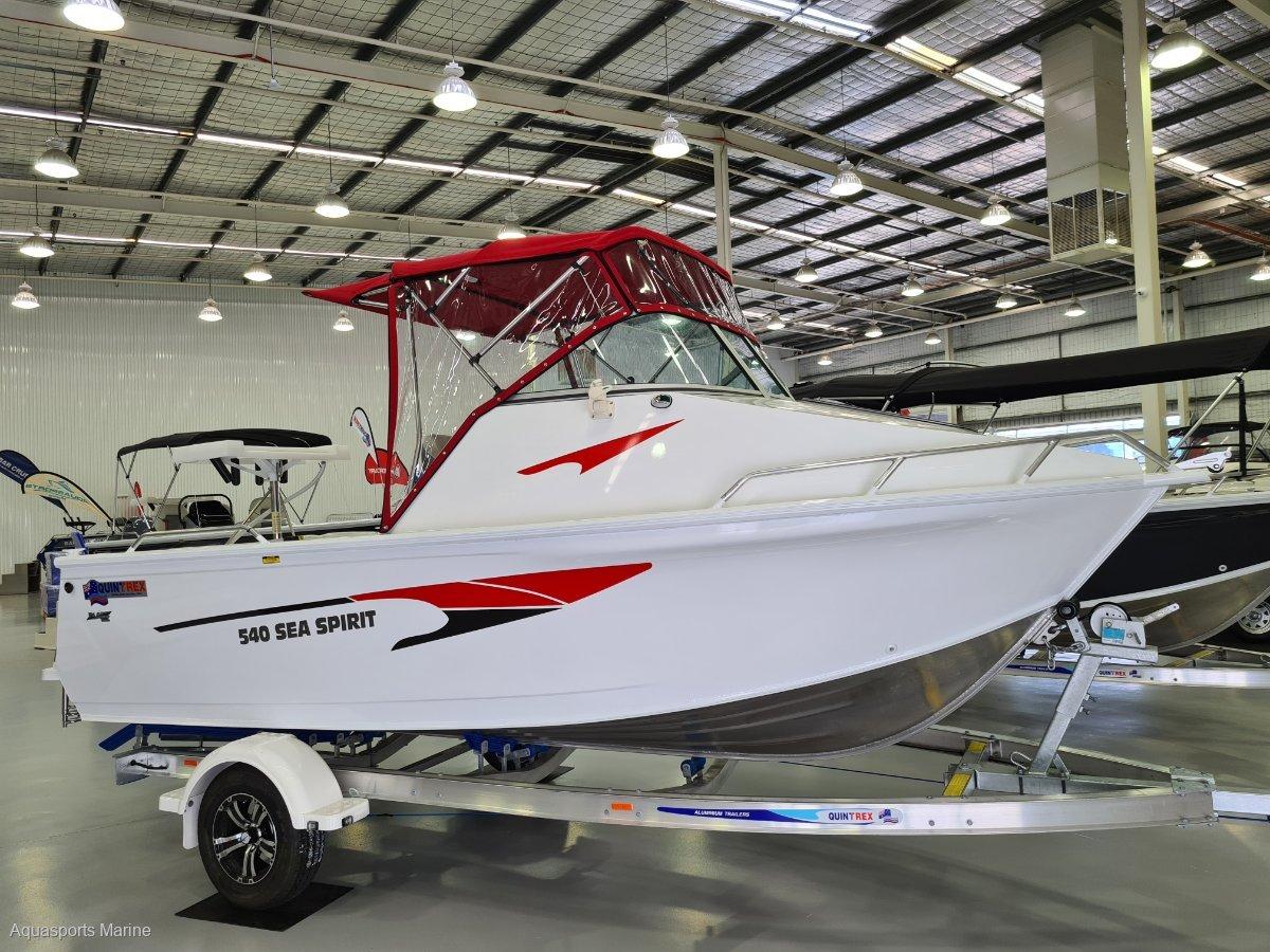 New Quintrex 540 Sea Sprit