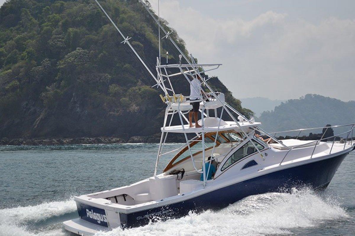 New Apex Quepos-350 Sportfishing