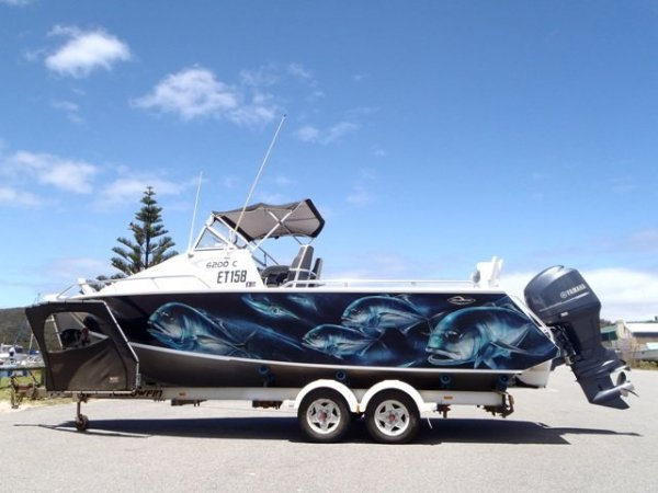 Yellowfin Plate 6200 Cabin Built by Quintrex