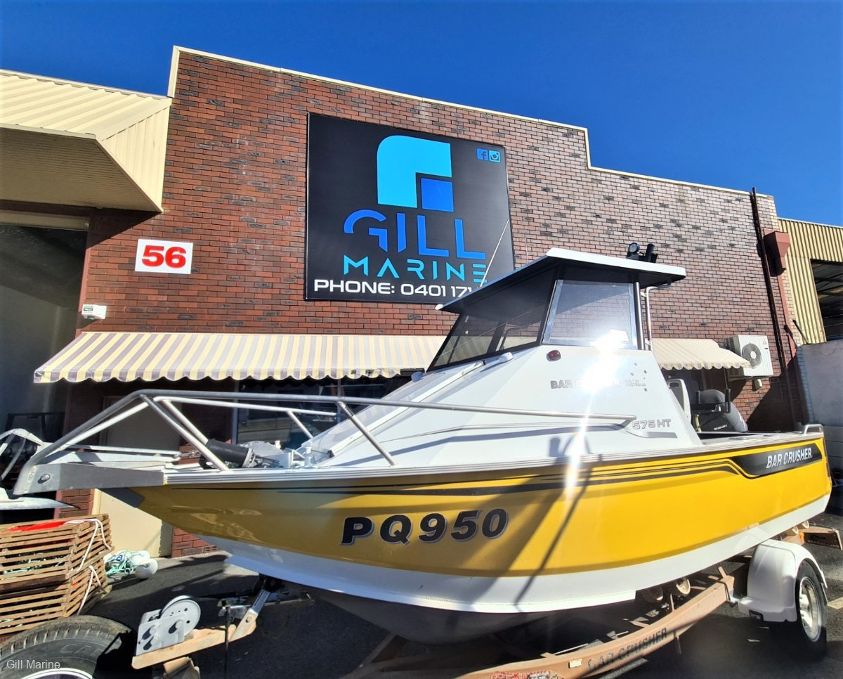 Bar Crusher 575HT AWESOME OFFSHORE FAMILY, FISHING BOAT FORSALE