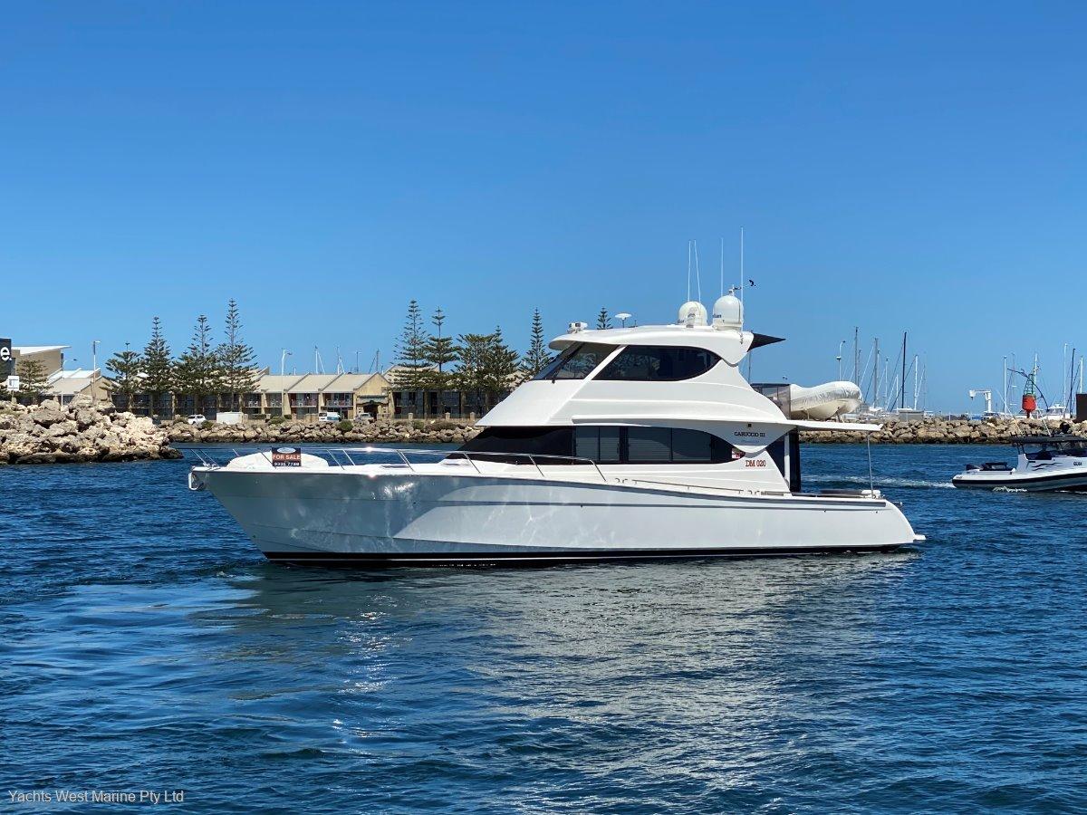 "Maritimo 52 Cruising Motor Yacht ""ROTTO MOORING and PEN Possibilities "":MARITIMO 52 by YACHTS WEST MARINE ph 9335 7788"