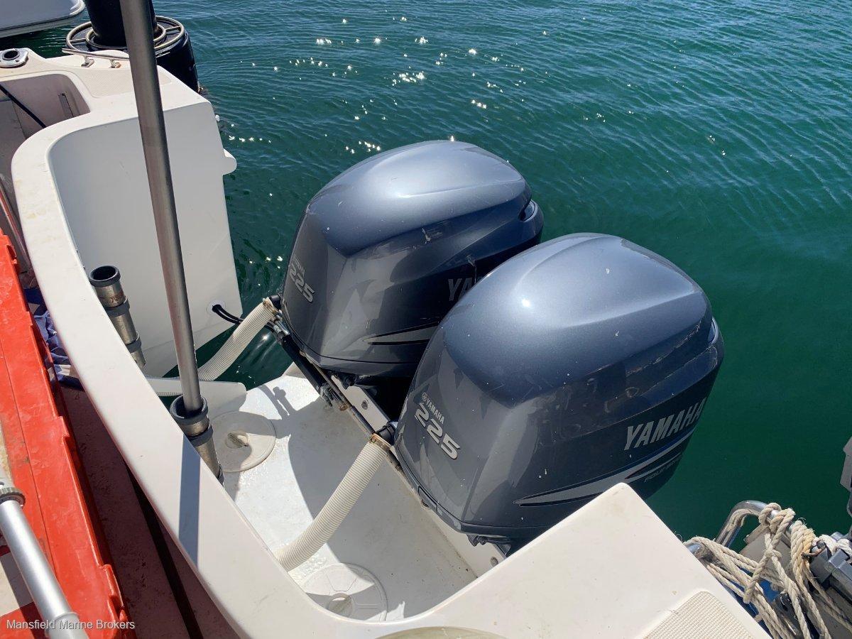 Gulf Craft Walk Around 35 Twin Outboard