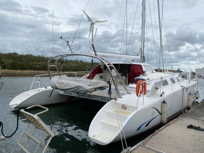 Crowther Design 85 MK2 50' Dagger Board Catamaran